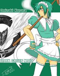 DarkGreen Maid: Onizaki Kurata by Tc-Chan