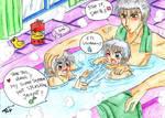 Sparda Family taking bath 2
