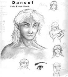 Daneel Character Portrait