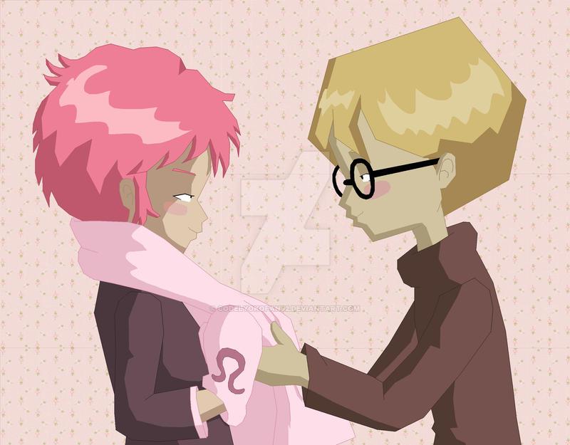 Pink love... by codelyokofan92