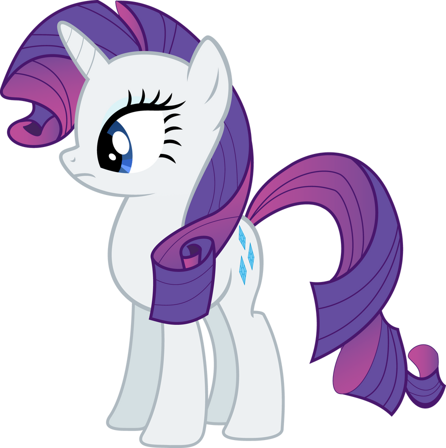 Rarity Vector by sunran80