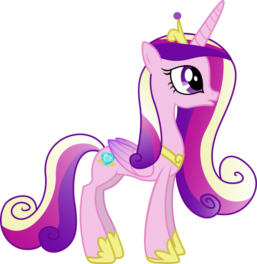 Princess Cadance Standing By Sunran80 On Deviantart Images Of Princess Cadence
