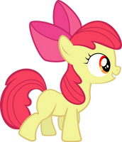 Adorable Applebloom by sunran80