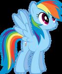 Rainbowdash vector