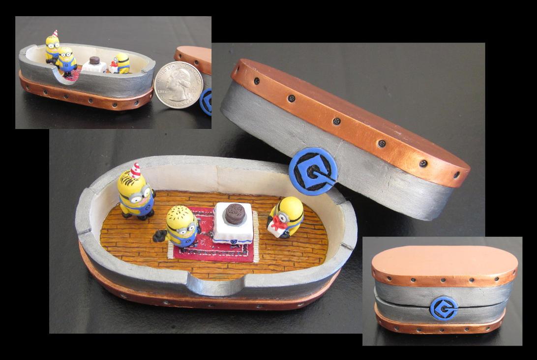 Minions Treasure Box by dizzleman