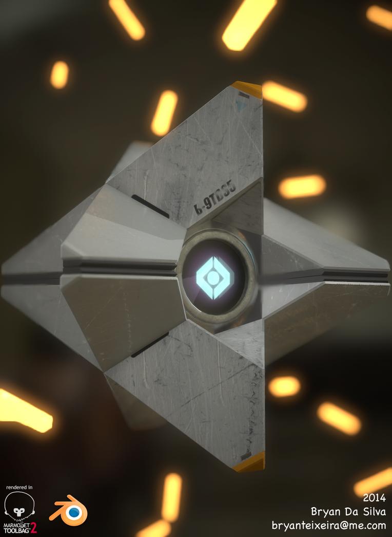 Destiny: Ghost by whitekidz