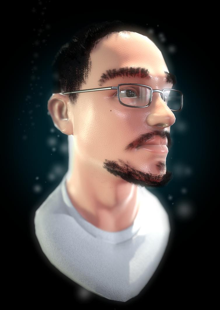 Self Portrait by whitekidz