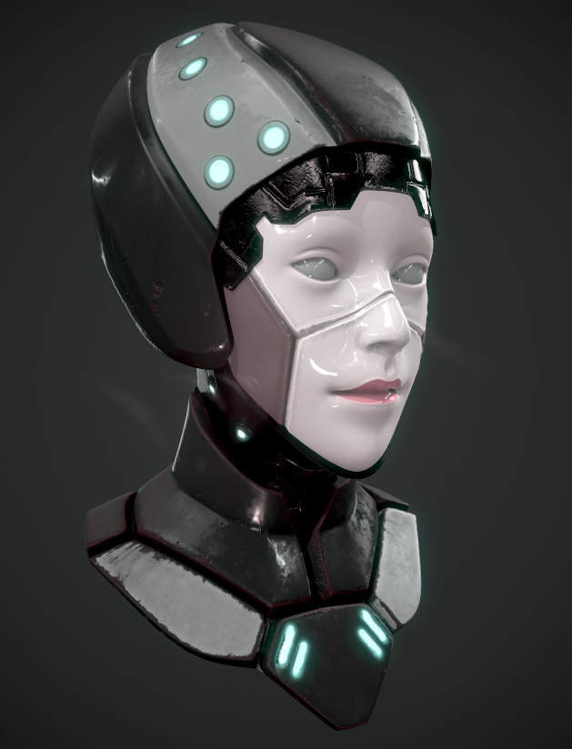 Mech Girl WIP by whitekidz