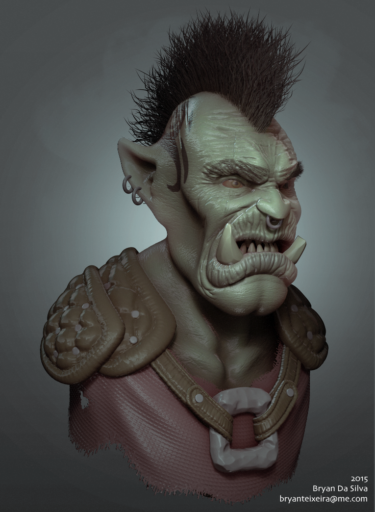 Orc Warrior by whitekidz