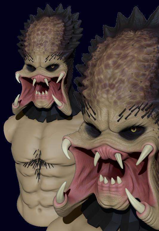 Predator WIP by whitekidz