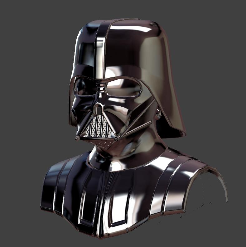 Vader WIP by whitekidz
