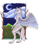 Winged wolf request