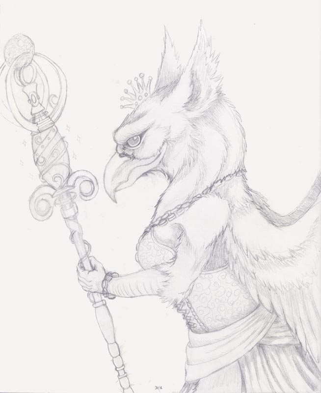 Sketch for Cirri by Skychaser