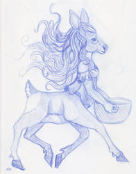 Draw a centaur 2019 by Skychaser