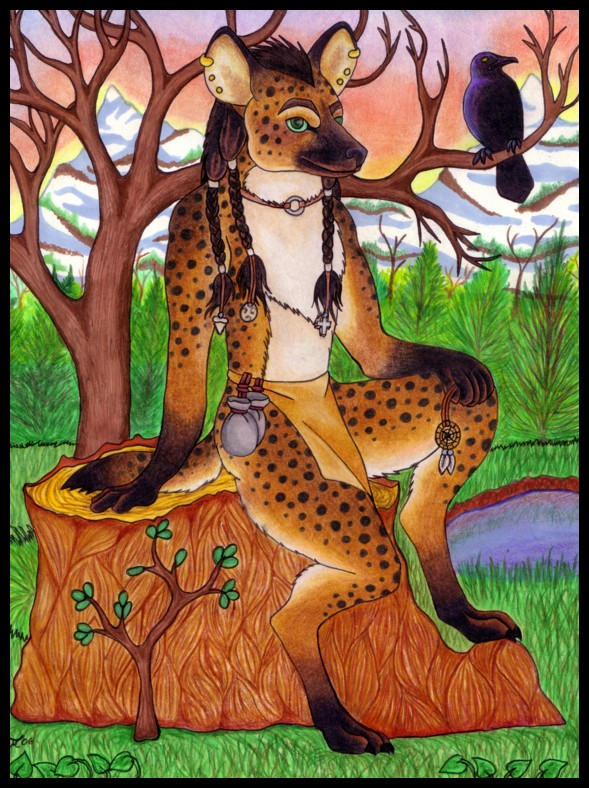 Hyena Commission Complete by Skychaser