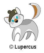 Little cute Lupercus by Skychaser