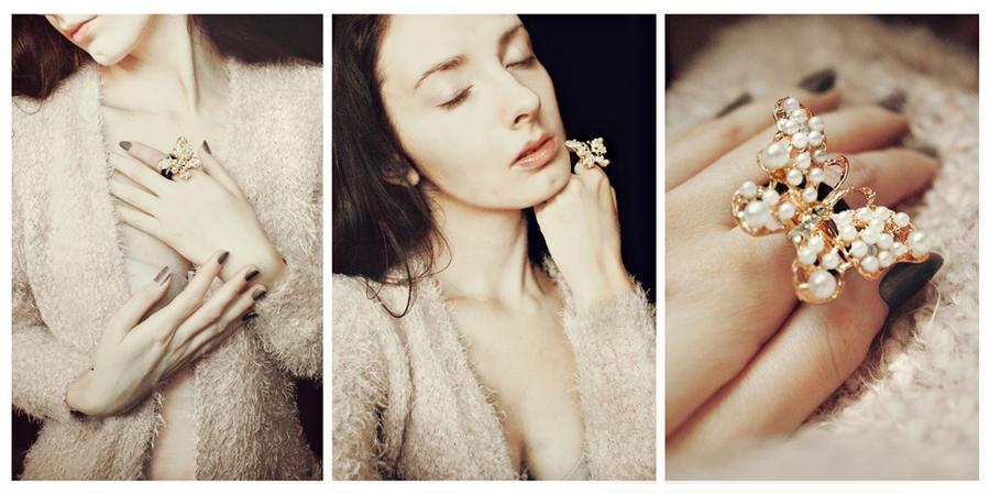 Her morning elegance by Lentilcia
