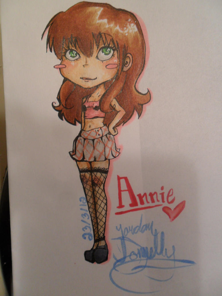Annie COMMISSION by jojo263