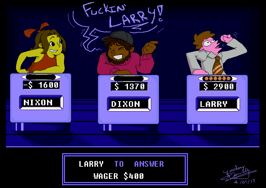 FUCKIN LARRY by jojo263