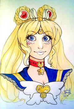 Eternal Sailor Moon Bust