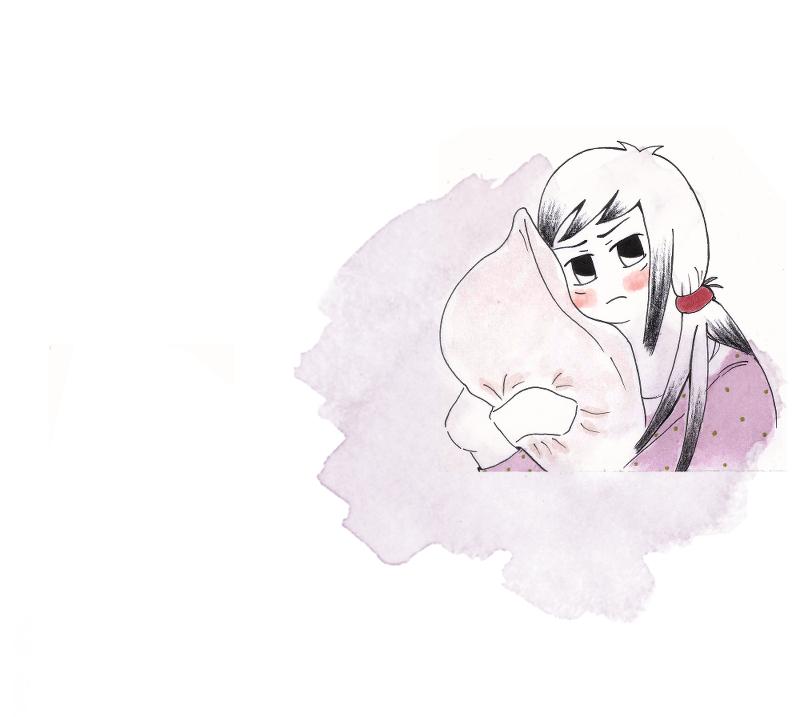 Akane Uneasy by GudServo