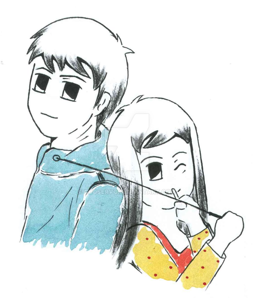Akane Meets Ryu~ Profile Cover by GudServo