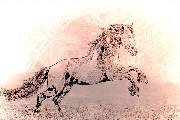 Flying Horse by GudServo