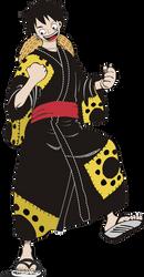 Luffy in Wano by GudServo