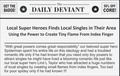With Tiny powers comes locaol singles!!!