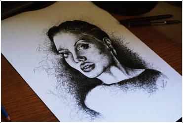 Angelina Jolie by BPlenilunium
