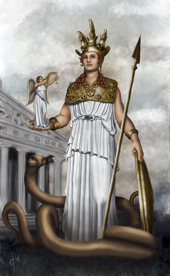 Athena Parthenos by EdsonAndrade on DeviantArt