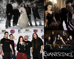 Evanescence Collage by ForeverFallen16