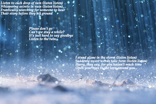 Listen To The Rain By Foreverfallen16 On Deviantart