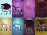 Evanescence Horse Adoptables CLOSED
