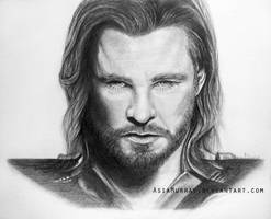 The Mighty Thor of Asgard by AsiaMurray