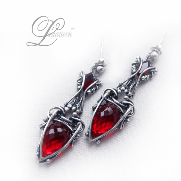 LANTHIRIEEL earrings by LUNARIEEN