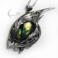 YLZECTORH DRAHARIS ( dragon's eye ) by LUNARIEEN