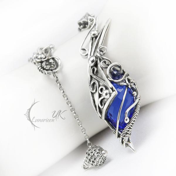 AVILMINTAR - silver , blue quartz , iolite by LUNARIEEN