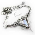 ANTINLIURN  - silver and moonstone