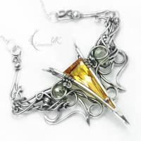 ANVITURH- citrine and lemon quartz by LUNARIEEN