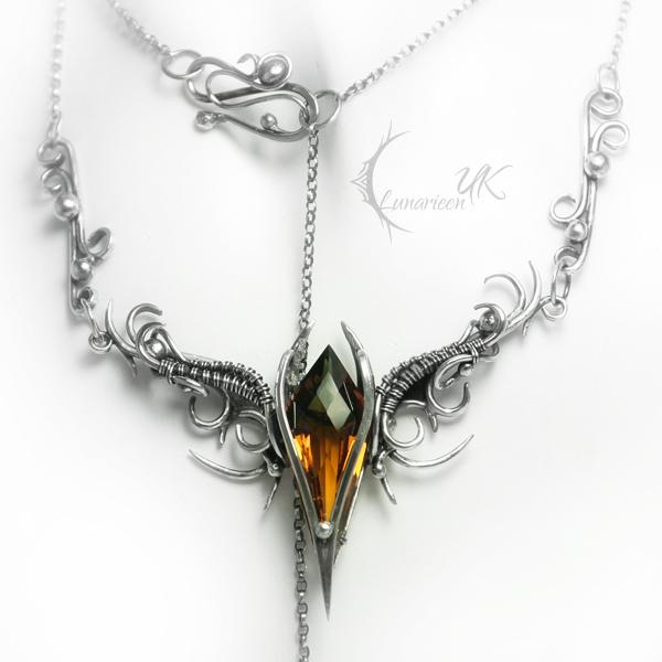 EZTERNIS - silver , ametrine by LUNARIEEN