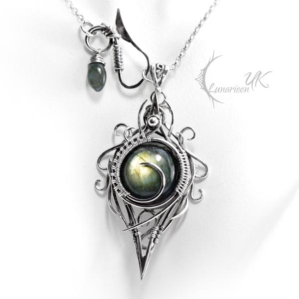 XIGHNAR - silver and labradorite. by LUNARIEEN