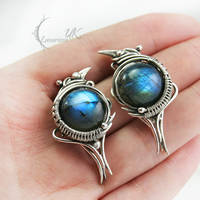 EXIRTULH - silver and labradorite by LUNARIEEN