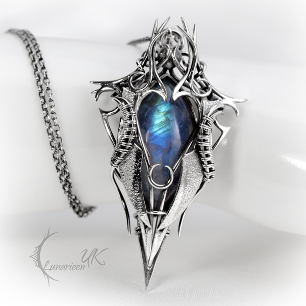 IRGNARTH - silver and moonstone by LUNARIEEN