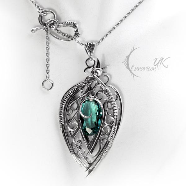 NORHZIR - silver and quartz by LUNARIEEN