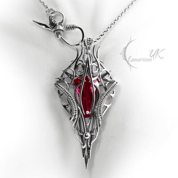 DRHAXYSS - silver and quartz by LUNARIEEN