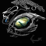 NARRUGHT DRACO - silver and labradorite