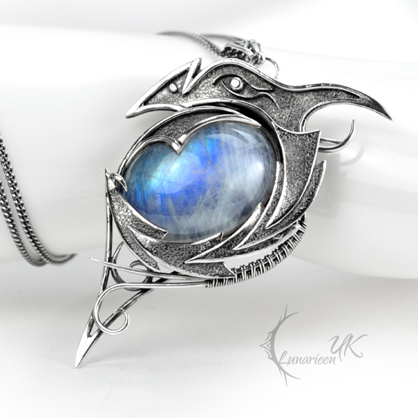 DRACO VINTIARTH - silver and moonstone