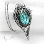 XITRNYR - silver and labradorite.