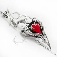 RUQTARX - silver , quartz , garden by LUNARIEEN